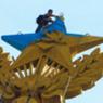 Украинский руфер, раскрасивший шпиль высотки, сменил имя