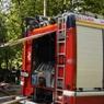В жилом доме на западе Москвы возник пожар - возможно произошел взрыв газа