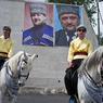 Призывники из Чечни идут служить в российскую армию