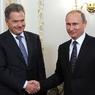 Владимир Путин проводит встречу с президентом Финляндии