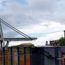 Опубликовано видео крушения моста близ Генуи