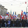 В Москве проходит многотысячное шествие профсоюзов