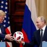 Мяч раздора: чип в подарке Путина Трампу обеспокоил политиков в США