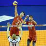 Волейбол: Сборная России в полуфинале прошла хозяев турнира
