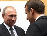 Путин заявил Макрону о недопустимости вмешательства в дела Белоруссии