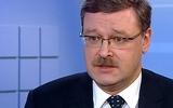 """Сенатор Косачев призвал подготовить """"болезненный"""" ответ на ужесточение санкций США"""