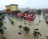 В Малайзии из-за наводнений были эвакуированы 3 тысячи жителей