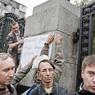 Протестующих против войны забрали с улиц Москвы в полицию (ФОТО)
