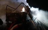 У аэропорта Платов под Ростовом выгорел дотла пассажирский автобус