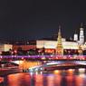 Сегодня в Москве включат зимнее световое оформление