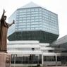 Союзные парламентарии пополнили фонд Нацбиблиотеки Белоруссии
