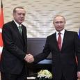 В Анкаре начались переговоры Путина и Эрдогана