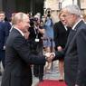 Путин провёл с президентом Австрии переговоры в Сочи