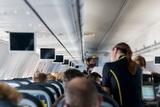 Самолет совершил экстренную посадку из-за нападения на стюарда