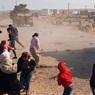 СМИ: жители сирийских деревень забросали российско-турецкий патруль камнями и обувью