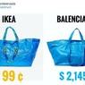 """IKEA рассказала, как отличить их сумку-мешок от """"подделки"""" за $2 тысячи"""