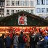 В  Страсбурге - лучшая рождествеская  ярмарка  Европы