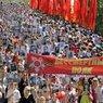 """Акция """"Бессмертный полк"""" собрала сотни тысяч человек"""