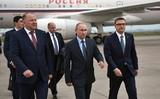 Владимир Путин приехал в Магнитогорск