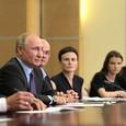 """Путин пообещал """"ритмично"""" финансировать научные исследования"""