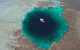 Обнаружена самая глубокая морская голубая дыра на планете
