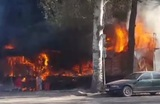 Один человек погиб и 15 пострадали в результате взрыва в кафе в Бишкеке