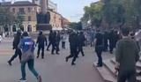 В Бресте силовики выстрелили в воздух на митинге