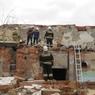 При обрушении старого здания скотобойни в Новосибирске погиб человек