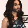 Бородатая Кончита явилась в платье русалки на фестивале в Каннах