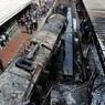 Момент взрыва поезда в Каире попал на видео
