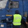 Под Калугой микроавтобус с людьми врезался в грузовик