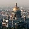 Верующие активисты прошли крестным ходом у Исаакиевского собора в Петербурге