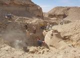 В Египте раскопали сфинкса с головой барана, вырезанного из песчаника более 3000 лет