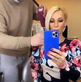 Лера Кудрявцева вернулась к работе после перенесенного перелома