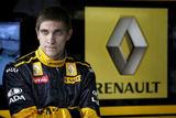 Гонщик Петров нанес на свою машину надпись в честь Шумахера