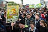 Берлинцы провели марш за легализацию марихуаны