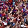 50 фанатов ЦСКА поддержали команду, несмотря на запрет со стороны УЕФА