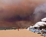 Украина ввела самоизоляцию для приезжих из России, а на турецком курорте - крупный лесной пожар