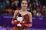 Алина Загитова заявила о приостановке карьеры