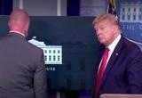 Трампу пришлось прервать пресс-конференцию из-за стрельбы у Белого дома