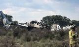 В Мексике после крушения пассажирского самолёта все 103 человека на борту выжили
