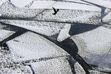 Лед Финского залива пошел по швам, МЧС ищет рыбаков на льдине