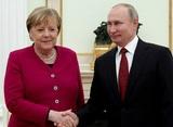 Путин и Меркель обсудили ситуацию в Белоруссии