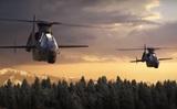 """В США отсняли рекламные ролики, где новейшие американские вертолеты уничтожают танки """"Армата"""""""