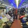 Первый поезд под управлением женщины-машиниста запустили в столичном метро, и она - красавица