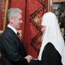Мэр Москвы и патриарх Кирилл заложили новый храм в Тушино