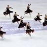 Россиянки стали чемпионами мира в синхронном катании