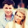 Асмус и Харламов окрестили дочку Анастасией в храме Москвы ФОТО