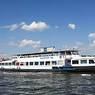 У Крымского моста речной трамвай столкнулся с катером