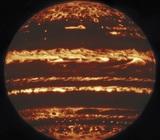 Телескоп Gemini «заглянул» за облака Юпитера